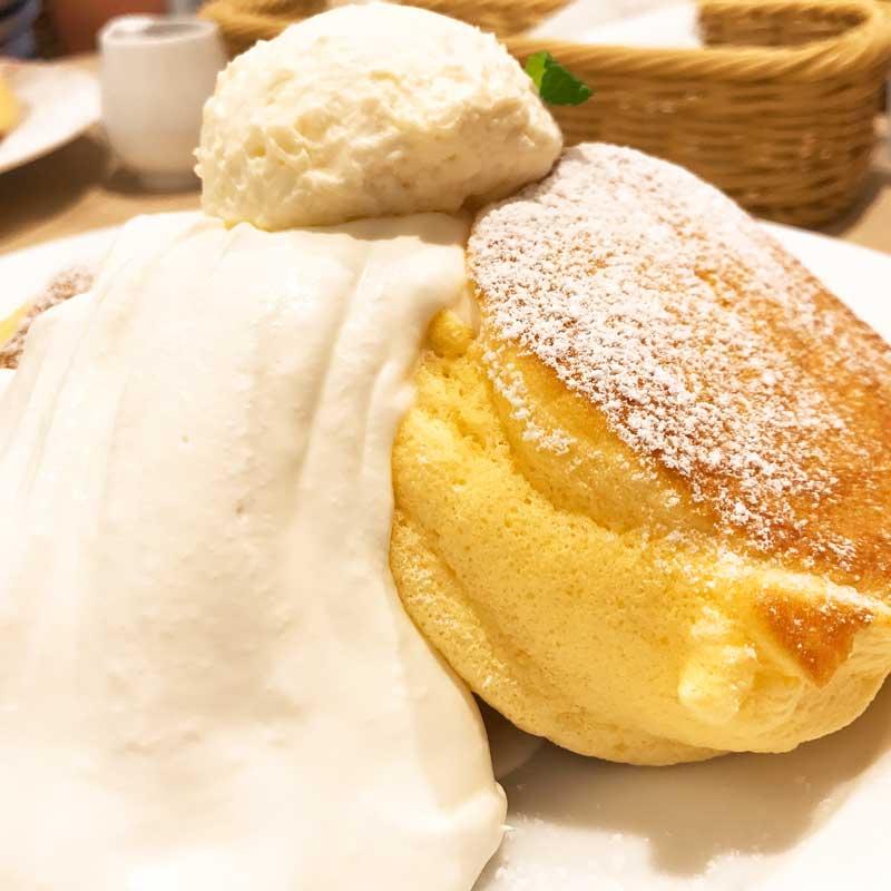 幸せのパンケーキ